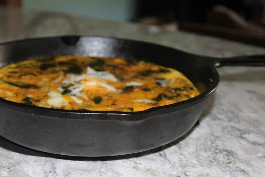 Low FODMAP SOUTHWESTERN FRITTATA Recipe