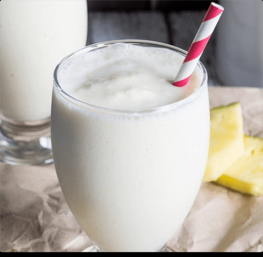 Low FODMAP Pina Colada Smoothie Recipe