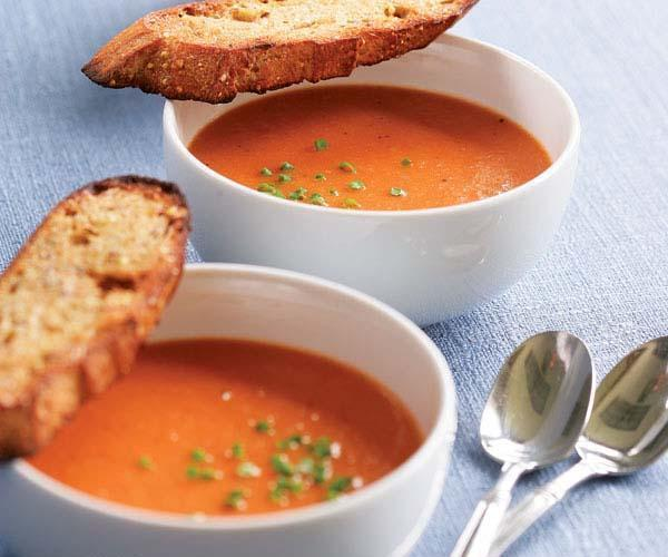 Low FODMAP Creamy Tomato Soup Recipe