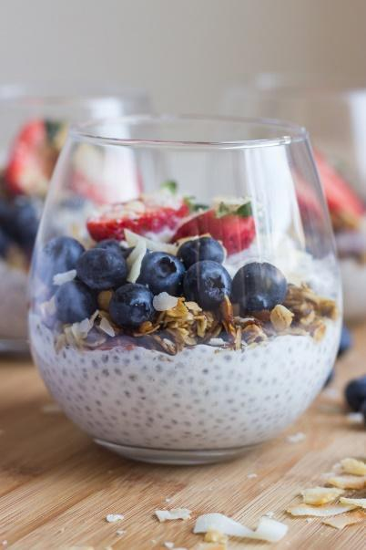 Low FODMAP Crunchy Granola Chia Pudding Recipe