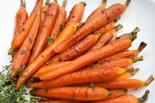 Low FODMAP Roasted BBQ Carrot Fries Recipe
