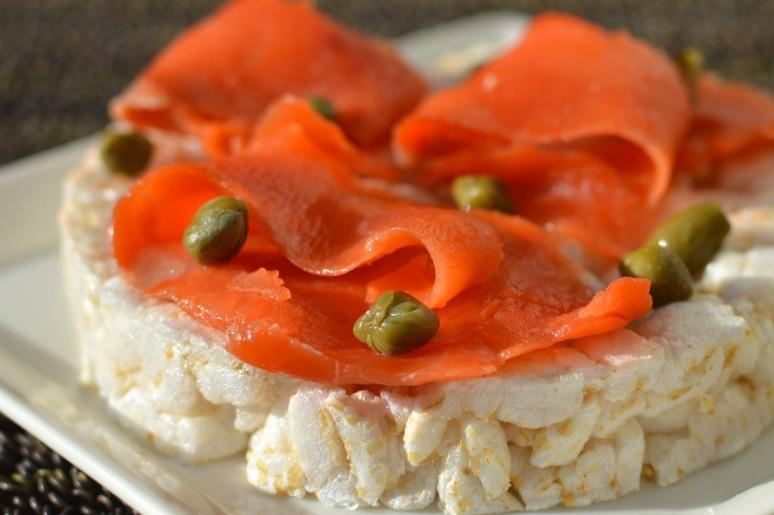 Low FODMAP Rice Cake Lox Recipe