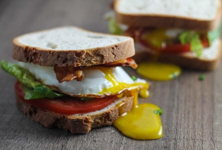 Low FODMAP BLT with Egg Recipe