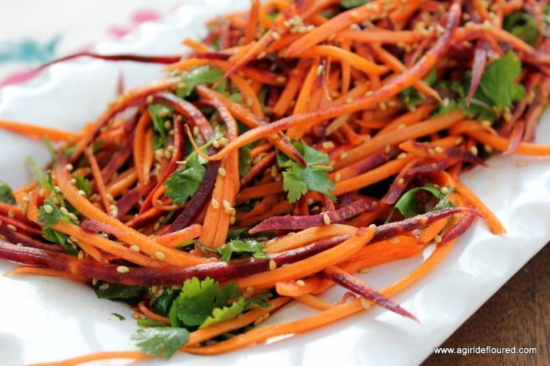Low FODMAP Carrot Slaw Recipe