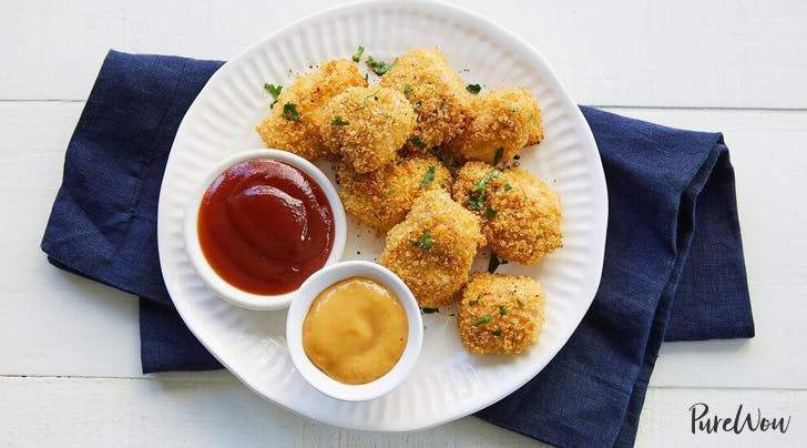 Low FODMAP Baked Quinoa Chicken Nuggets Recipe