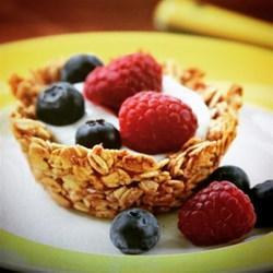 Low FODMAP Granola Cups Recipe