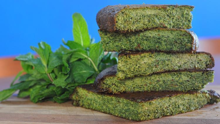 Low FODMAP Kuku Persian Herb Frittata Recipe