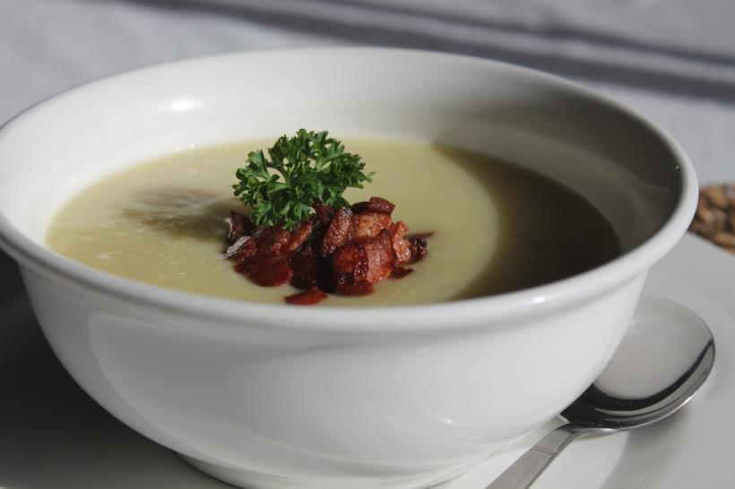 Low FODMAP Creamy Potato Soup Recipe