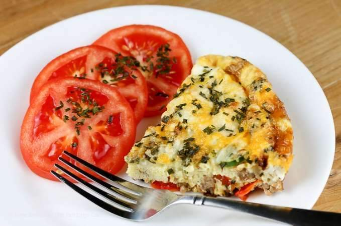 Low FODMAP Vegetable Frittata Recipe