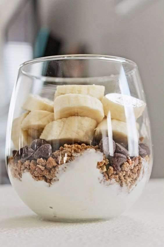 Low FODMAP Chocolate Banana Parfait Recipe