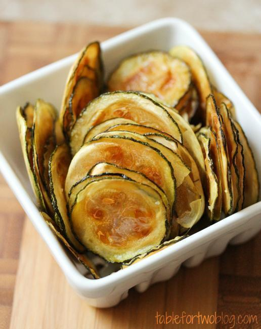 Low FODMAP Salt and Vinegar Baked Zucchini Chips Recipe