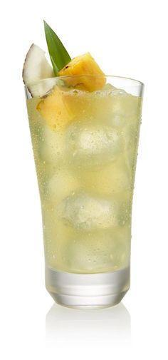Low FODMAP Virgin Pineapple Lemonaid Cosmopolitan Recipe