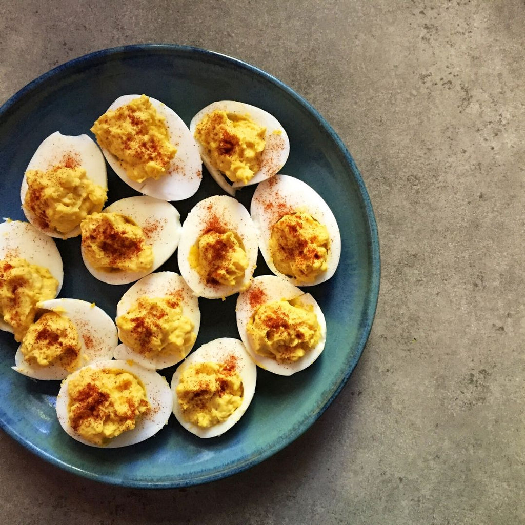Low FODMAP Deviled Eggs Recipe