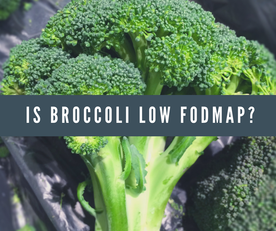 Is Broccoli Low FODMAP?