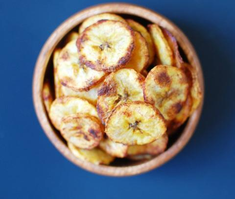 Low FODMAP Plantain Chips Recipe