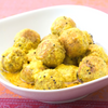 Low FODMAP Basil Curry Falafel with Curry Yogurt Dipping Sauce – Vegan Recipe