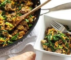Low FODMAP Beef, Sweet Potato & Kale Skillet Recipe