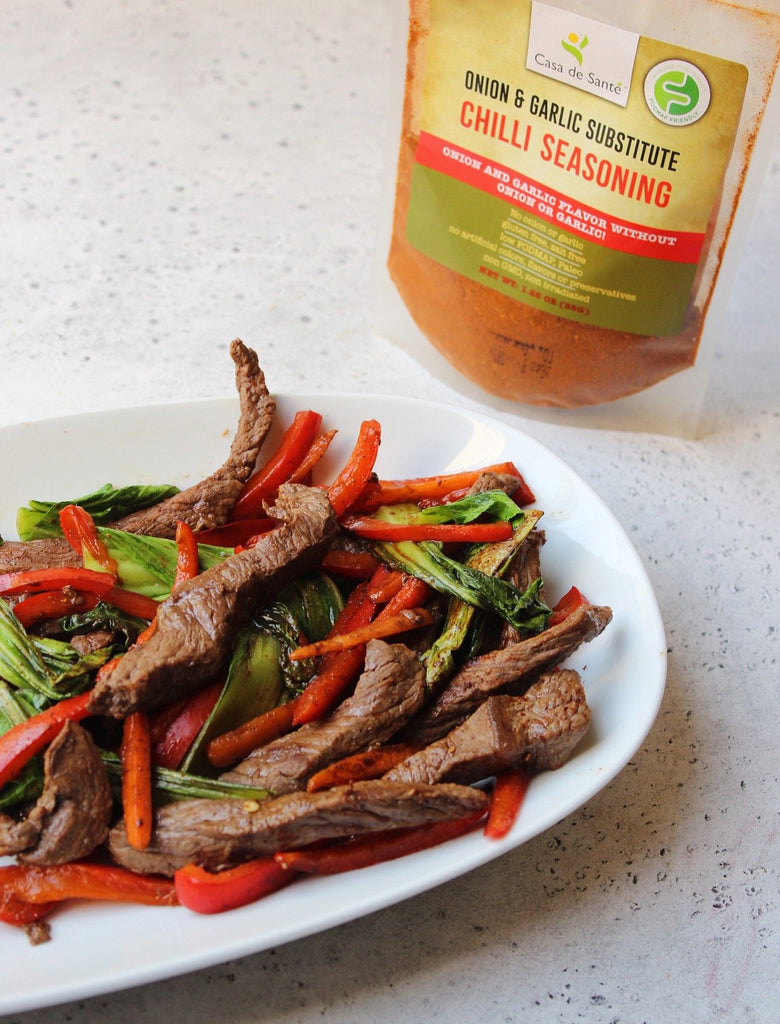 Low FODMAP Chili Beef Stir Fry Recipe