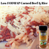 Low FODMAP Corned Beef & Rice