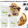 Low FODMAP Flourless Blueberry Muffins