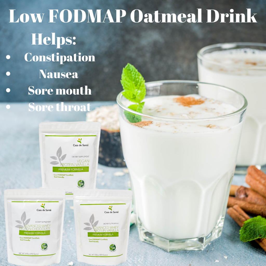 Low FODMAP Oatmeal Drink