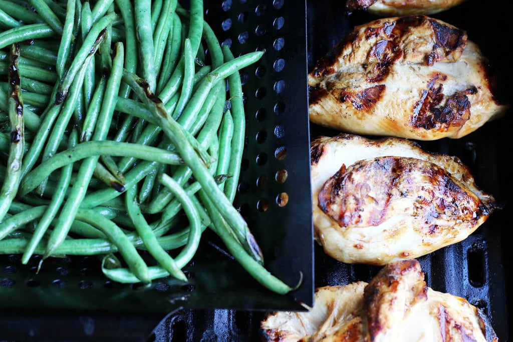 Low FODMAP Maple Mustard Chicken with Green Beans Recipe