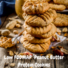 Low FODMAP Protein Peanut Butter Cookies (4 ingredients)