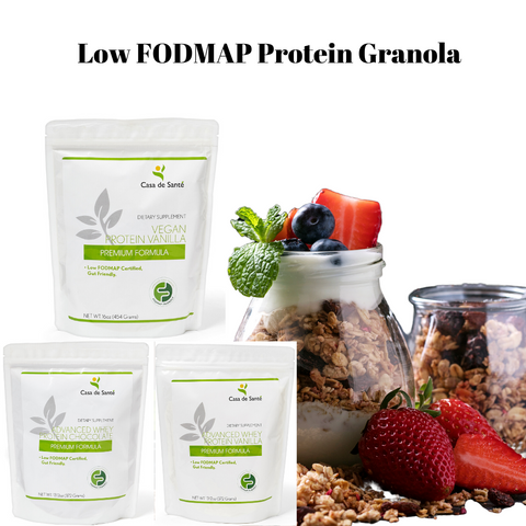 Low FODMAP Protein Granola