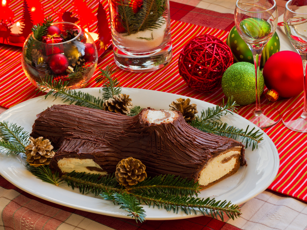 Low FODMAP Protein Yule Log Cake Recipe