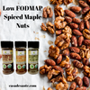 Low FODMAP Spiced Maple Glazed Mixed Nuts