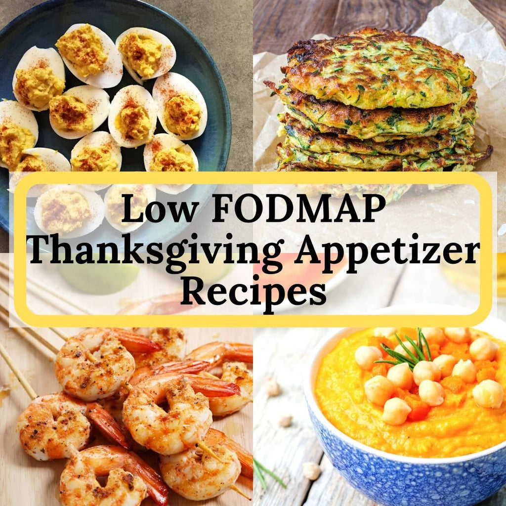 Low FODMAP Thanksgiving Appetizer Recipes