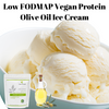 Low FODMAP Protein Olive Oil Ice Cream (Video)