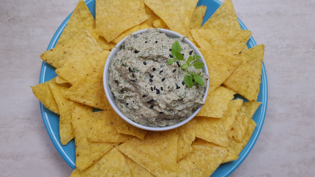 Low FODMAP Vegan Protein Zucchini Dip Recipe