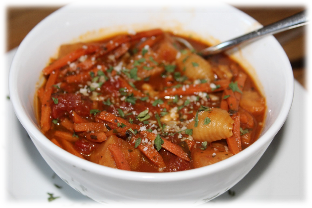 Low FODMAP Minestrone Soup Recipe