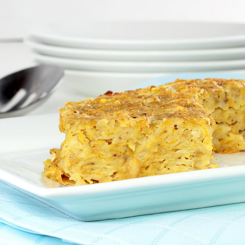 Low FODMAP Sweet Potato Kugel Recipe