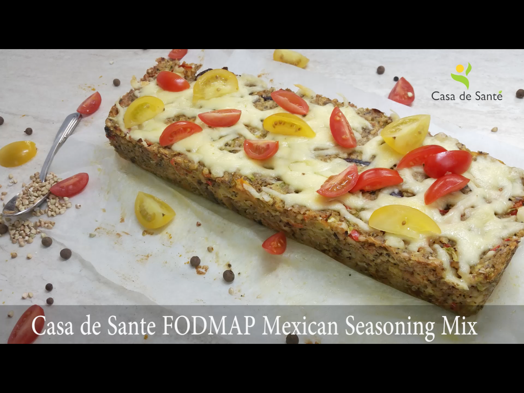 Low FODMAP Vegetarian Zucchini Bake Recipe (Video)