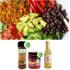 Low FODMAP Burrito Bowl with Quinoa Tofu Taco Filling - Immune Support Recipe