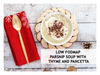 LOW FODMAP PARSNIP SOUP WITH THYME AND PANCETTA