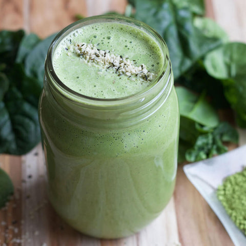 Low FODMAP Tropical Matcha Smoothie Recipe