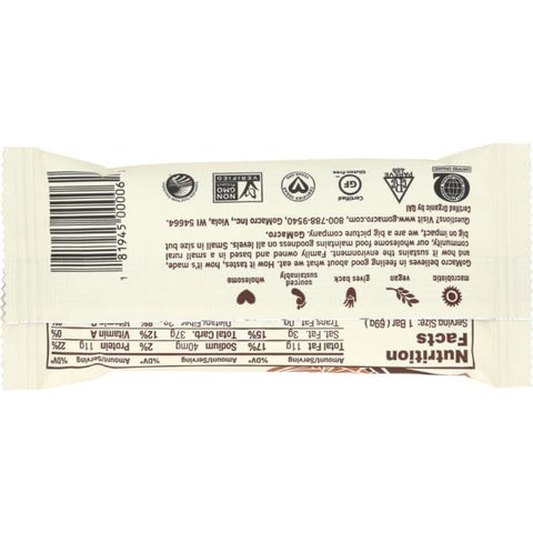 GOMACRO Low FODMAP Protein Bar: Protein Pleasure Peanut Butter Chocolate Chip, 2.5 oz