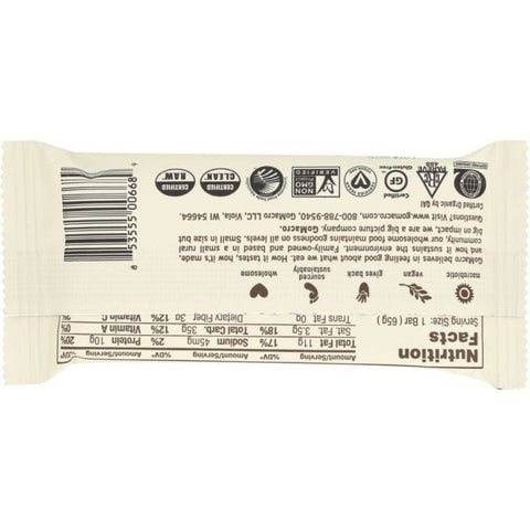 GOMACRO Low FODMAP BAR: CHOCOLATE CHIP ALMOND BUTTER (2.300 OZ)