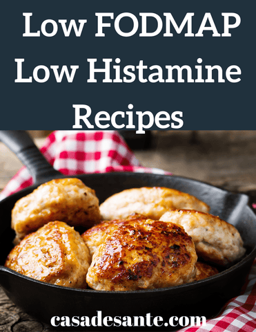 50 Low FODMAP Low Histamine Recipes Cookbook