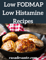 Image of 50 Low FODMAP Low Histamine Recipes Cookbook