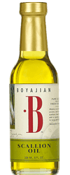 Boyajian Scallion Oil (8oz), Low FODMAP, Gold Winner, LA International Olive Oil Competition-casa de sante
