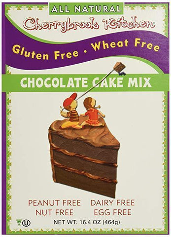 Cherrybrook Kitchen Chocolate Cake Mix, 16.4oz - Gluten Free, Wheat Free-casa de sante