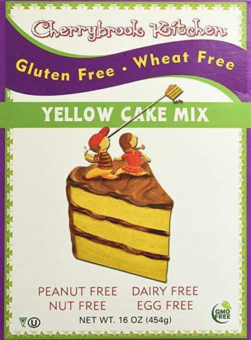 Cherrybrook Kitchen Gluten Free Yellow Cake Mix, 16 oz-casa de sante