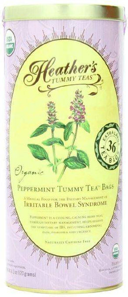 Heather's Tummy Tea ™  Peppermint Tea Bags, 4.2 oz (36 Jumbo Teabags)
