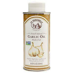 La Tourangelle Garlic Infused Sunflower Oil (8.45 oz) - Low FODMAP Low FODMAP IBS
