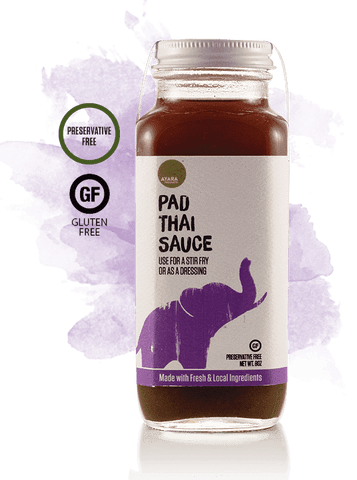 Low FODMAP Ayara Pad Thai Sauce - Asian Stir Fry Sauce, No Onion, No Garlic, No Additives/Preservatives/Fillers, Gluten & Dairy Free, 8oz-Sauce-casa de sante