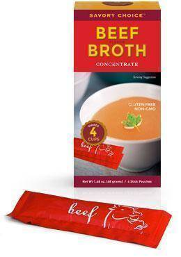 Low FODMAP Beef Flavor Broth Concentrate, Savory Choice-casa de sante